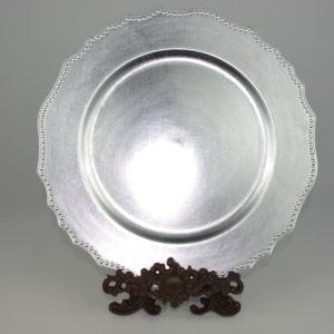 Dekoratiivne taldrik (hõbe)