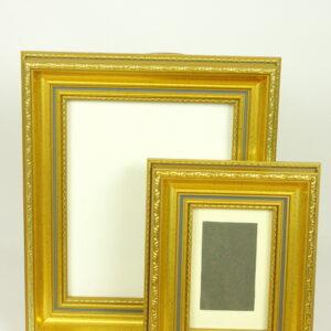 Kuldne pildiraami komplekt
